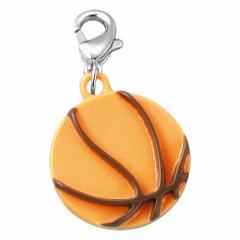 バスケットボールのジッパーチャーム