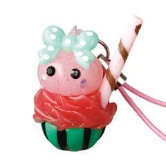 スイカジュース/ピンクほっぺちゃんストラップ