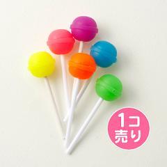 棒付きキャンディー風消しゴム/1個売り