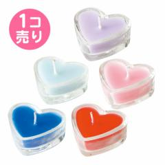 香りつきハート型キャンドル/1個売り