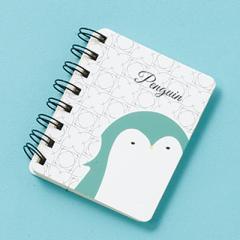 ペンギンのミニリングノート