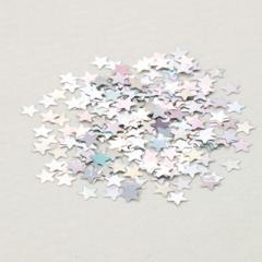 銀色/星型スパンコール0.05g