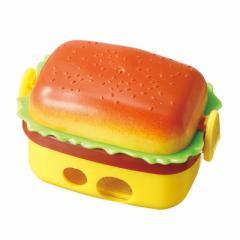 ハンバーガーの鉛筆削り/消しゴム2個つき
