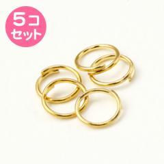 金色/7MM丸カン5個セット