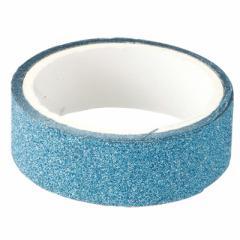 ラメ入りライトブルー/マスキングテープ