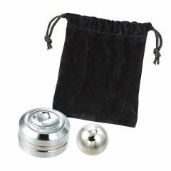 銀色/磁石タイプのハンドスピナー