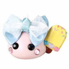 ピンク/アイス持ちメガほっぺちゃんオブジェ