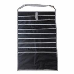 黒/デスクサイド収納ポケット