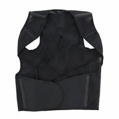 黒/背筋がピン!しっかりホールド姿勢ベルト