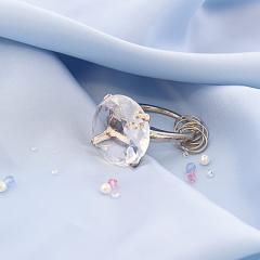 クリア/指輪型のキーリング