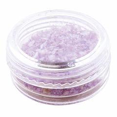 紫色/ケースつきシェルパーツ約2g