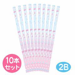 桃水色紫グラデ/ほっぺちゃん鉛筆10本セット
