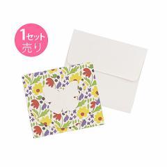 蝶モチーフのメッセージカード/1セット売り
