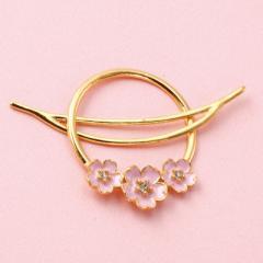 金色/桜のお花つきマジェステ