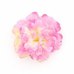 ピンク系グラデーションのお花ヘアクリップ