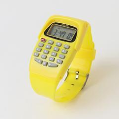 計算もできる腕時計!/ファッション性・機能性・実用性を兼ね備えた優秀アイテム/多機能/デジタル腕時計/ユニセックス