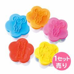 花型ケース粘土10色入り/1セット売り