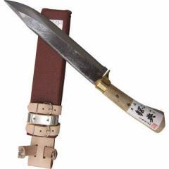 五十嵐刃物工業 4953821202244 鋼典 安来鋼付 山鉈 片刃ツバ付 完全包装