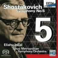 【CD】ショスタコーヴィチ:交響曲第5番/インバル [EXCL-80]