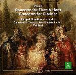 【CD】モーツァルト:フルート&ハープ協奏曲&クラリネット協奏曲/ランパル/ラスキーヌ [WPCS-21050]