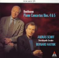 【CD】ベートーヴェン:ピアノ協奏曲第4番&第5番(皇帝)/シフ [WPCS-21221]