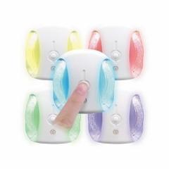 YAZAWA(ヤザワ) LEDセンサーナイトライト 高輝度白色LED×2灯 NL20