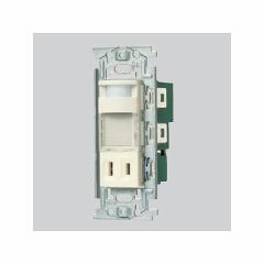 パナソニック 埋込熱線センサ付ナイトライト LED:電球色 0.6W コンセント付 WN4065
