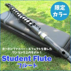 【送料無料】Student Flute フルート 限定モデル NUVO FGSFCFB カーボンファイバー・エフェクト プラスチック製【代引不可】