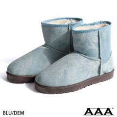 【2319】ムートンブーツ メンズ/靴 ボア ムートン フェイクムートン ショート ファーブーツ ブーティ  あったかブーツ