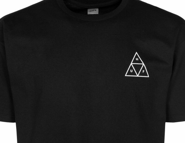 HUF Mens Triple Triangle S//S Tee