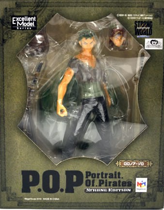 ゾロ フィギュア P.O.P STRONG-EDITION