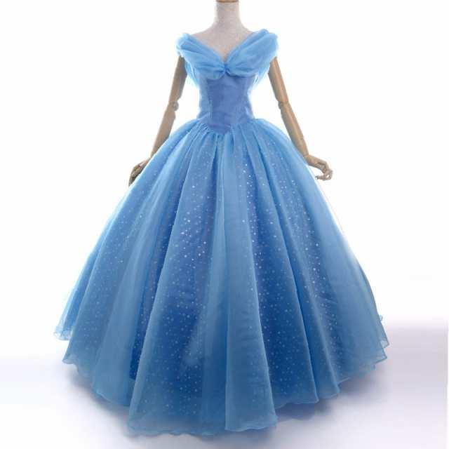 高品質 高級コスプレ衣装 映画 ディズニー シンデレラ 風 ドレス ウェディング オーダーメイド Cinderella Princess  Wedding dress Party|au Wowma!