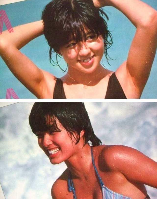 80's vintage 80年代 ヴィンテージ 石野真子 榊原郁恵 プロマイド写真 ...
