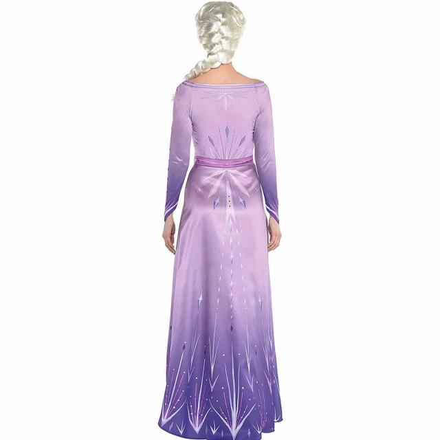 送料無料 アナと雪の女王 2 エルサ ドレス アナ雪 大人 コスプレ 衣装 仮装 コスチューム Frozen 2 au Wowma!