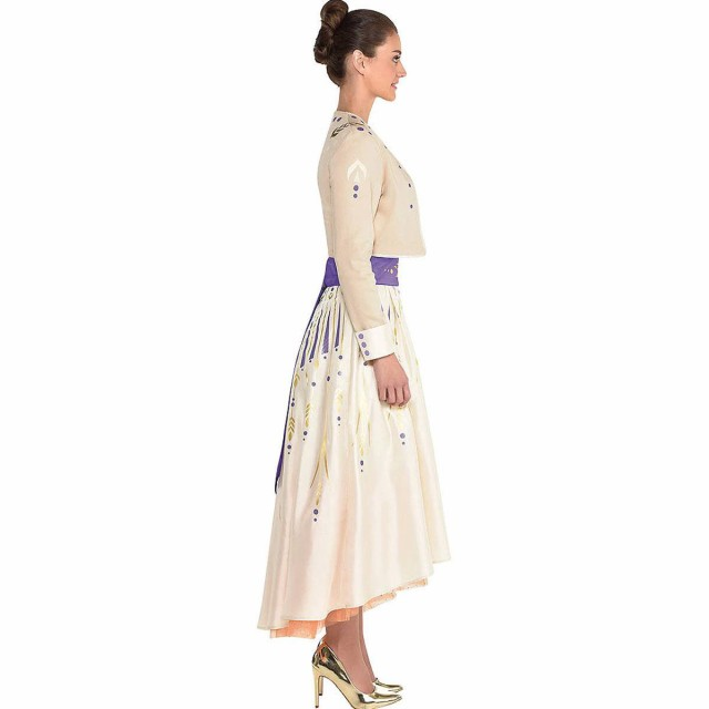 送料無料 アナと雪の女王 2 アナ ドレス アナ雪 大人 コスプレ 衣装 仮装 コスチューム Frozen 2 au Wowma!
