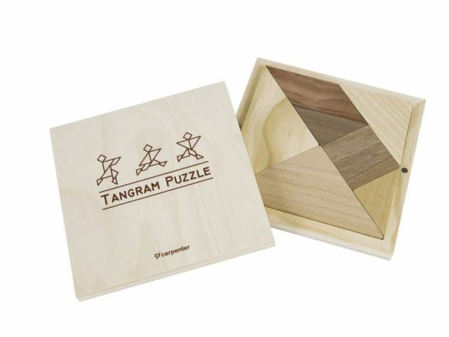 Carpenter木製 ウッド タングラム パズル 組み合わせパズル シルエットパズル 知育新品送料込みau Wowma