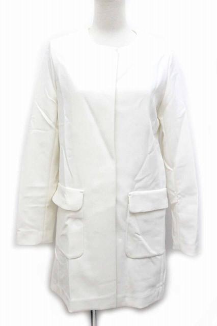 ユニクロ ノー カラー コート