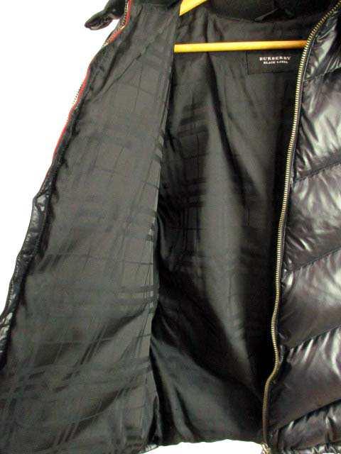 【中古】バーバリーブラックレーベル BURBERRY BLACK LABEL ダウンジャケット フード フォックスファー |au Wowma!