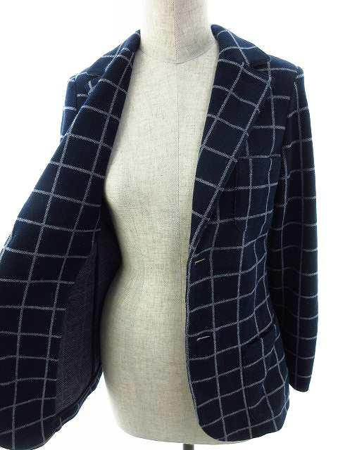 buy popular 4b4b4 9684d 【中古】アルマーニ ジュニア ARMANI Jr ジャケット テーラード 総柄 12A 紺 ネイビー /MO キッズ au Wowma!