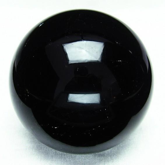 モリオン 黒水晶 丸玉 スフィア 76mm [送料無料] 151-1534