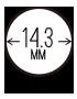 14.3mm