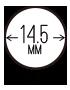 14.5mm