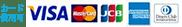 カード使用可: VISA, MasterCard, JCB, American Express, Diners Club