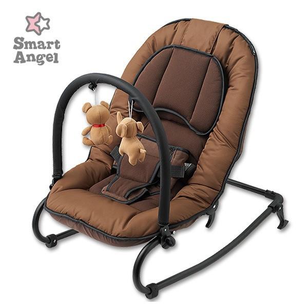 SmartAngel)どり〜むバウンサーネクスト2[バウンサー 新生児 ベビー 折りたたみ 赤ちゃん お昼寝 ベビー用品 ベビーグッズ
