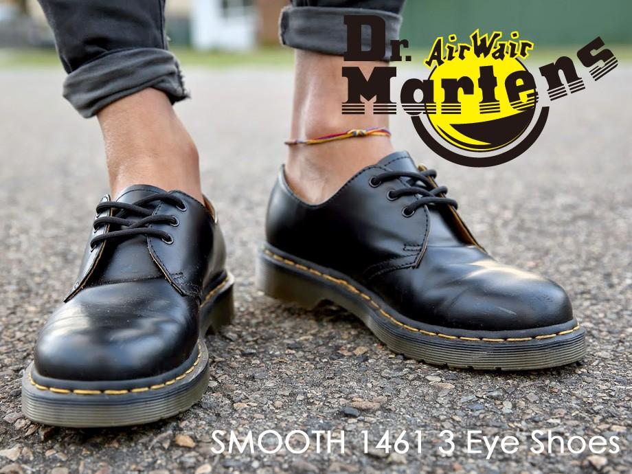 ドクターマーチン 3ホール 1461 メンズ レディース Dr.Martens シューズ 3 EYE SHOE R11838002