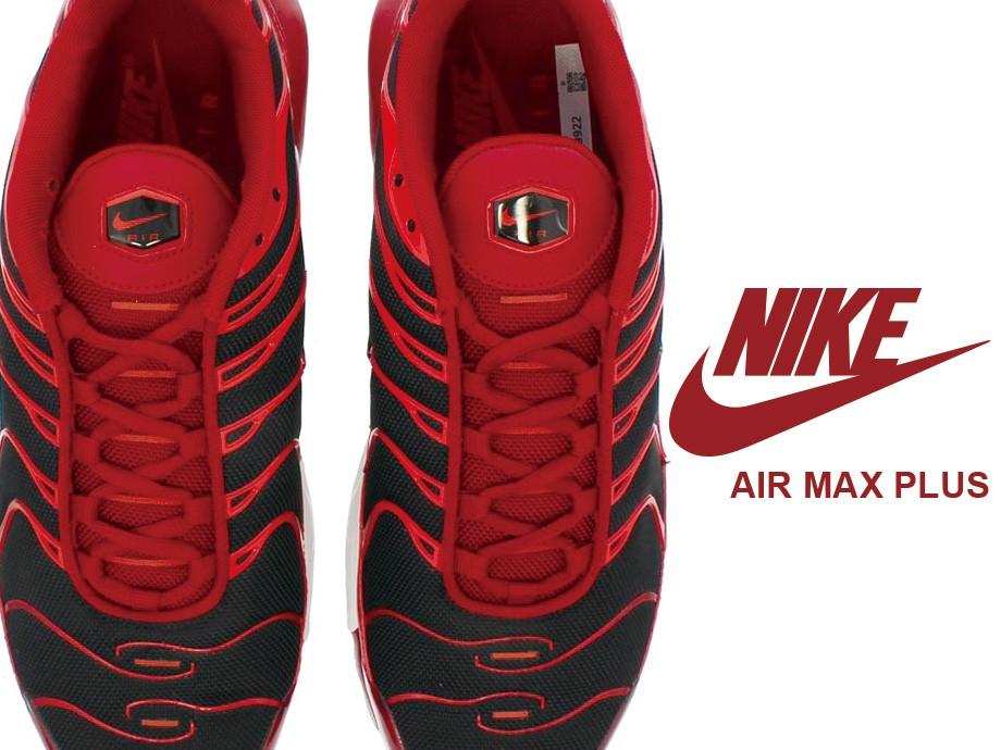 ナイキ NIKE エアマックス プラス スニーカー AIR MAX PLUS 852630-601 メンズ レッド [1/20 新入荷]