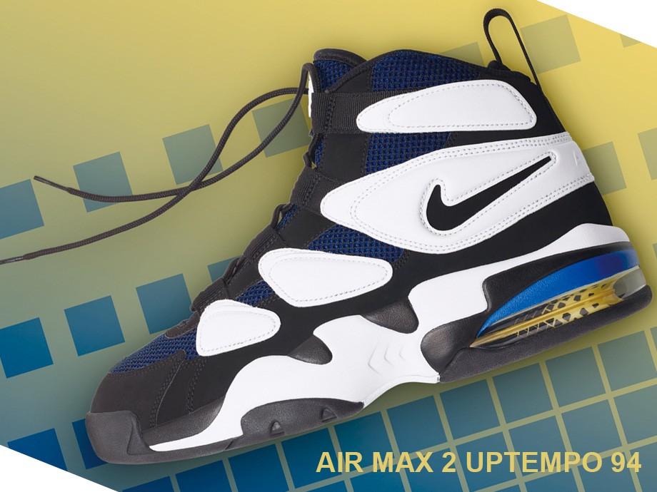 ナイキ NIKE エアマックス2 アップテンポ スニーカー AIR MAX 2 UPTEMPO 94 922934-101 メンズ ブラック [予約商品 1/26頃入荷予定 新入荷]