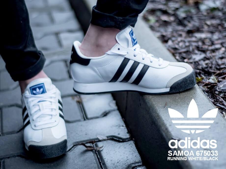 アディダス オリジナルス adidas Originals サモア スニーカー メンズ SAMOA ホワイト 白 675033