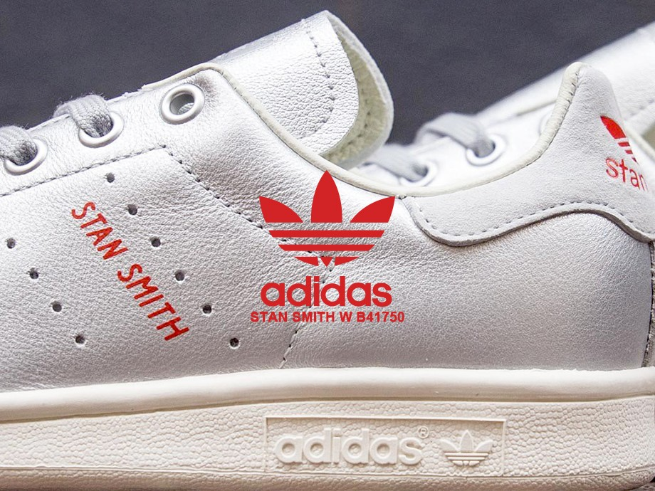 アディダス オリジナルス スタンスミス adidas Originals レディース スニーカー STAN SMITH W B41750 シルバー [6/20 新入荷]