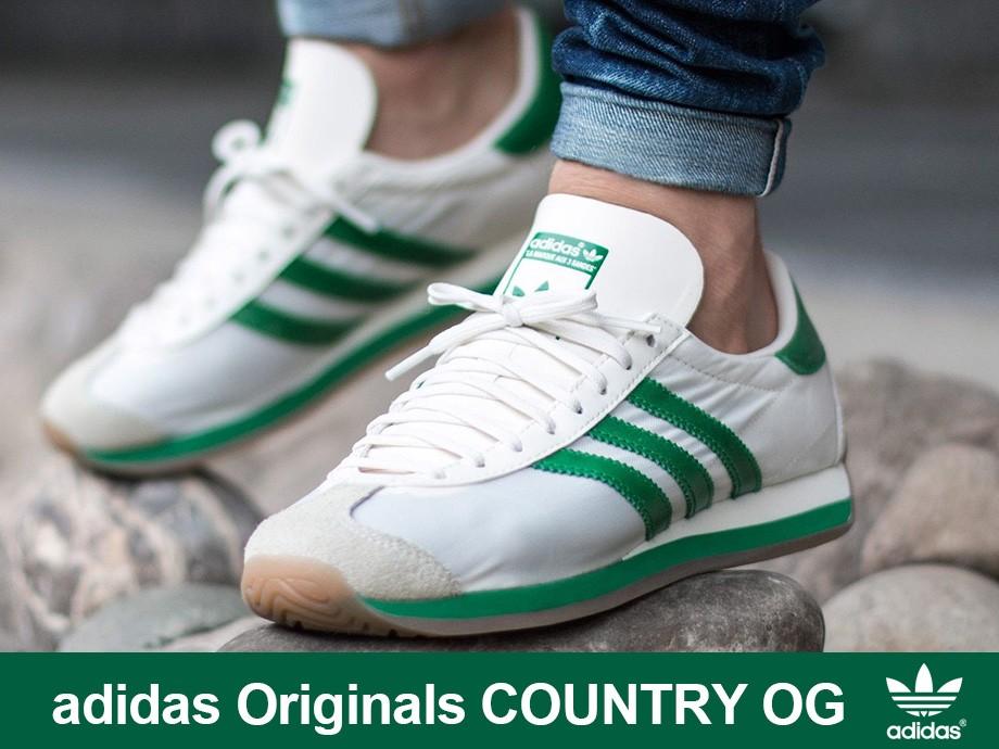 アディダス オリジナルス adidas Originals カントリー OG スニーカー メンズ レディース COUNTRY OG ホワイト 白 EE5745
